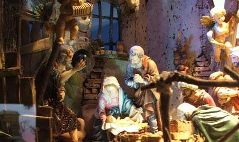 Visita Gli ordini religiosi e il presepe a Napoli