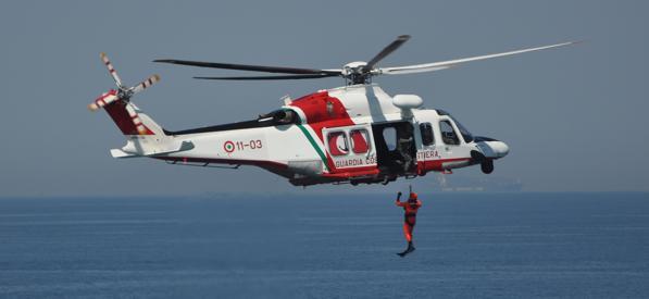 """Guardia costiera, monitoraggio areo del """"litorale vesuviano"""""""
