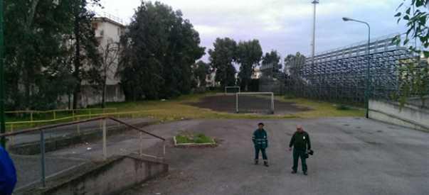 Torna fruibile l'area di sosta presso lo stadio Liguori