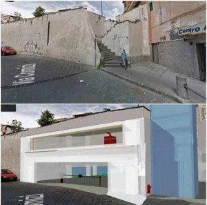 Parcheggio sotterraneo via comizi infiamma la polemica - Garage sotterraneo ...
