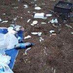 Foto denuncia: Barbari a Pasquetta