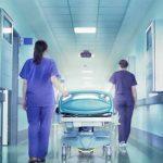 Sit in di protesta degli infermieri campani contro la Lorenzin