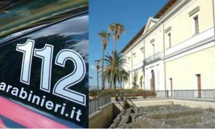 Ascensore in Villa Comunale, Carabinieri a Palazzo Baronale