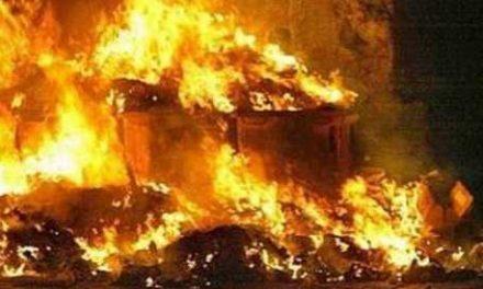 Incendiata azienda rifiuti, presentato esposto in Procura
