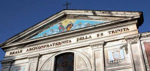 Storica celebrazione della Arciconfratenita della SS.Trinità a piazza Pugliano