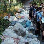 Altri 80 sacconi di rifiuti raccolti con Pinete pulite 2.0