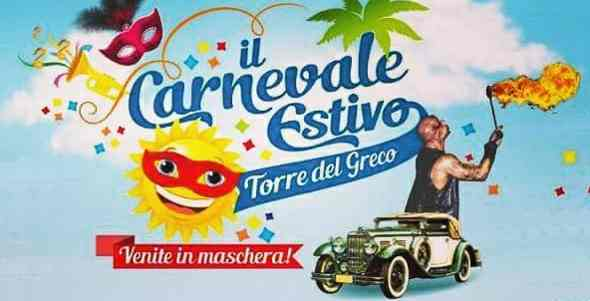 Circa 30.000 persone per il Carnevale Estivo di Torre del Greco [video]
