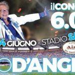 Nino D'Angelo in concerto allo Stadio San Paolo