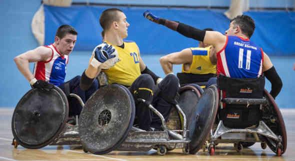 Rugby in carrozzina: l'Italia al Trofeo Internazionale di Barcellona