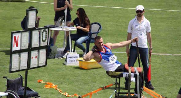 Atletica paralimpica: Sorrentino a Londra, primo giudice italiano (di Scafati ) presente ad un Mondiale