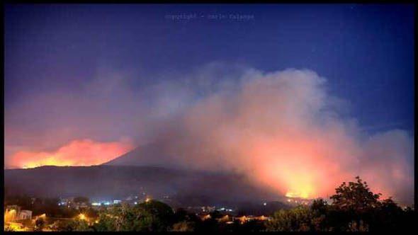 Incendi in Campania, Stop stagione venatoria