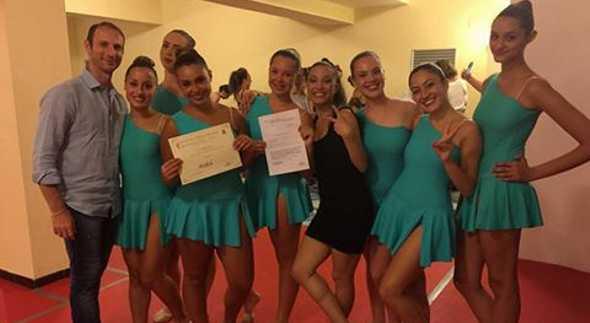 La danza Agorà Club terza alla kermesse di Maiori