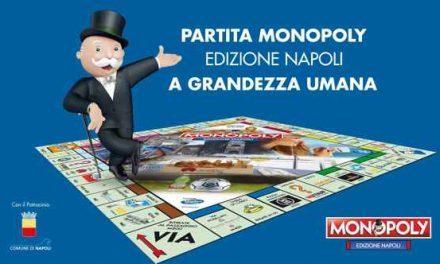 Monopoly Napoli, partita a grandezza umana 🗓