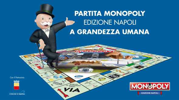 Monopoly Napoli, partita a grandezza umana