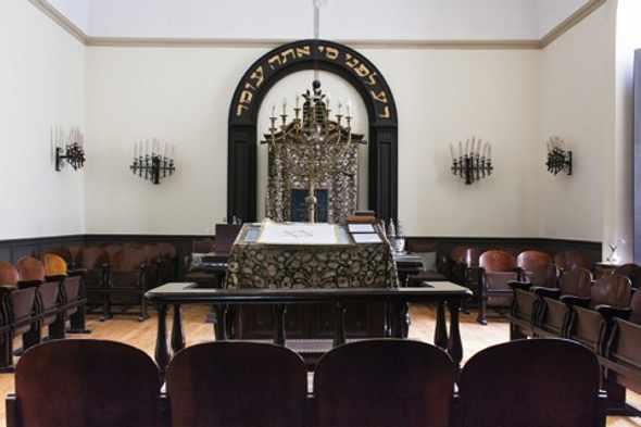 Sinagoga ebraica a Napoli nello storico palazzo Sessa