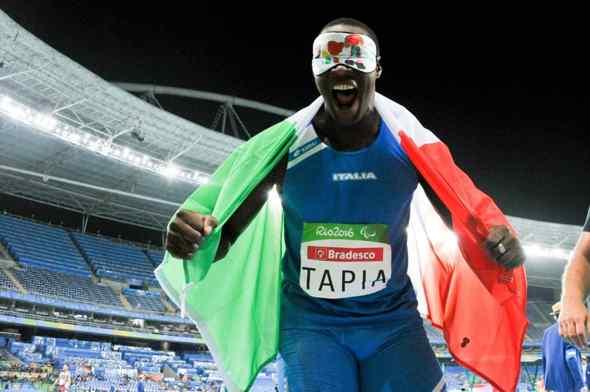 Atletica paralimpica: Oney Tapia record italiano nel disco