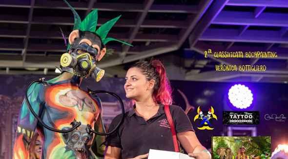 """Weronique Art premiata al II° Contest di """"Face&BodyPainting"""""""