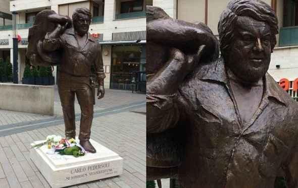 Budapest, inaugurata una statua a Bud Spencer