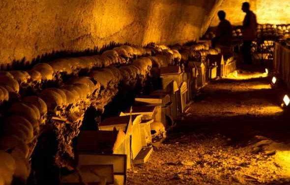 Appuntamenti: Grotta di Seiano, il colle di San Potito, Villa Fondi, il Cimitero delle Fontanelle
