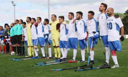 Calcio amputati, Italia in raduno a Lenola (LT)