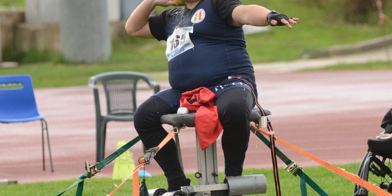 Atletica paralimpica: settore lanci in raduno a Roma