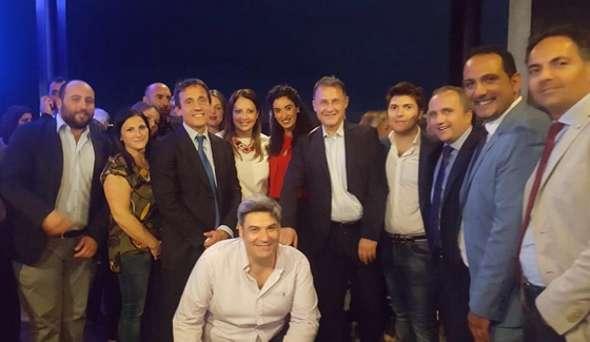 Fratelli d'Italia presente al gran completo all'apertura della campagna elettorale del candidato sindaco Luigi Mele