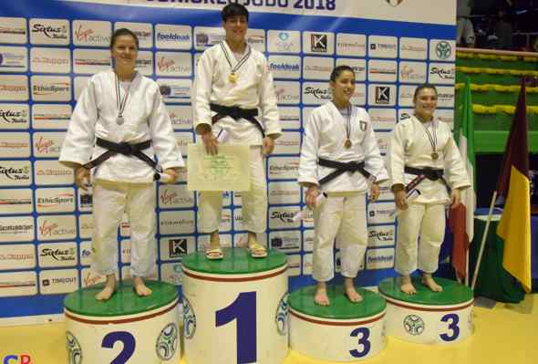 Judo: Nadia Simeoli per la seconda volta consecutiva è Campionessa Italiana Junior (U21) -63kg
