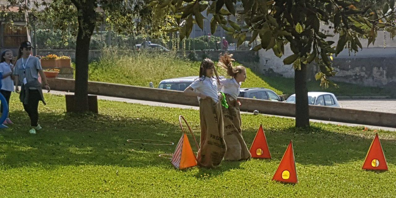 """Trecento bambini in strada e al Parco per il """"Giorno del Gioco"""" a Ercolano"""