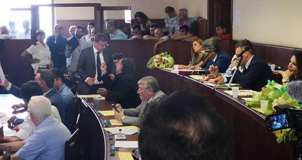Le forze d'opposizione unite contro la malamministrazione della maggioranza guidata da Giovanni Palomba