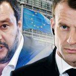 Scontro Italia-Francia: Scontro Salvini-Macron