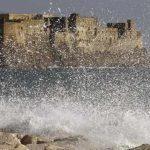 Vento e mare agitato, allerta meteo in Campania