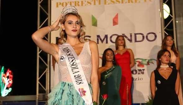 Ecco la prima semifinalista campana per Miss Mondo
