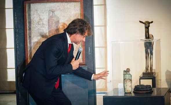 Alberto Angela è cittadino onorario di Pompei