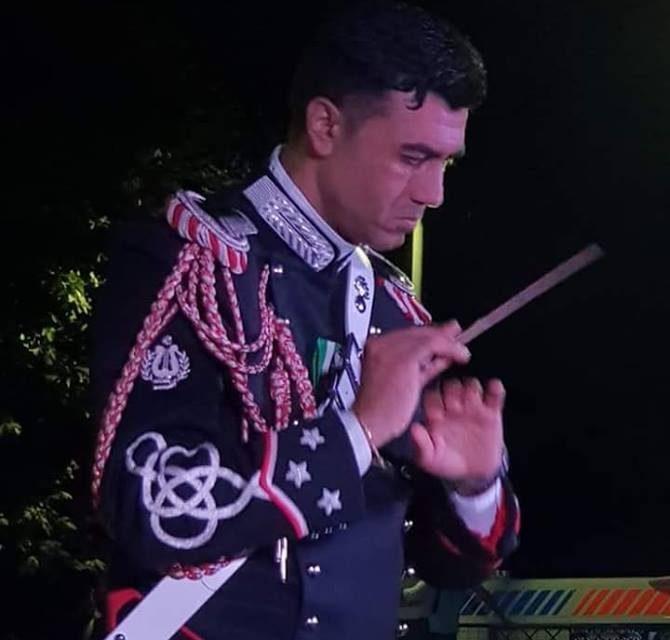 Campania, Il torrese Luca Berardo è il nuovo maestro della Fanfara dei Carabinieri