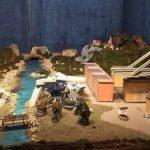Un presepe ricorda crollo ponte Morandi