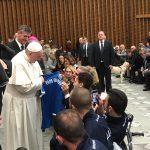 Calcio amputati: Azzurri ricevuti in Udienza da Papa Francesco