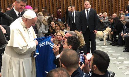 """Calcio amputati: Nazionale e Scuola FISPES all'evento """"Il calcio che amiamo"""" in Vaticano con Papa Francesco"""