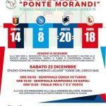"""Il 22 dicembre a Torre del Greco """"1° Memorial Ponte Morandi"""" in memoria delle vittime"""