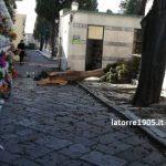 Torre del Greco, chiuso cimitero per allerta meteo