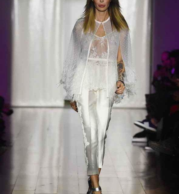 Lo stilista torrese Ferdinand protagonista con Nina Moric della Fashion Week di Milano