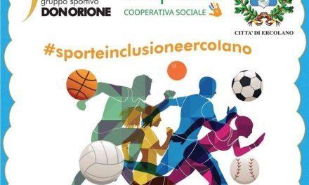 """Al via a Ercolano il progetto """"Sport e Inclusione"""""""
