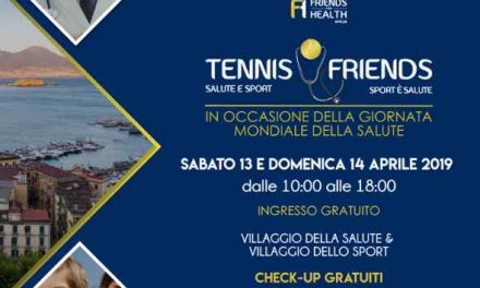 Tennis & Friend, sport e check up gratuiti