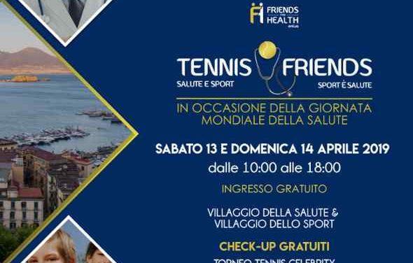Tennis & Friend, sport e check up gratuiti