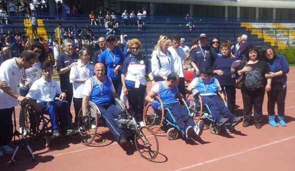"""Grande successo per """"LA SFIDA – lo sport è uguale per tutti"""", a Cava de' Tirreni"""