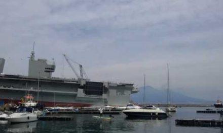 C. Stabia. Varata Trieste, la più grande nave militare italiana costruita nel Dopoguerra