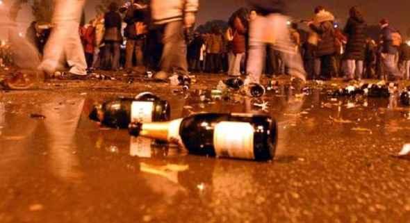 Alcol e musica, blitz alla movida nel centro storico