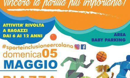 """Domani, ad Ercolano c'è """"Sport e inclusione: Vincere la partita più importante!"""""""