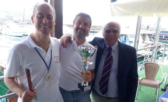 Campionato mondiale di vela non vedenti a Salerno