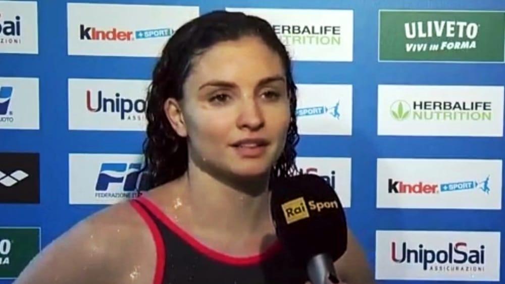 Universiade 2019, Silvia Scalia medaglia d'oro alla Piscina Scandone