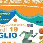 """Ercolano, Piazza Pugliano diventa un'arena sportiva per l'appuntamento serale di """"Sport in Città"""""""